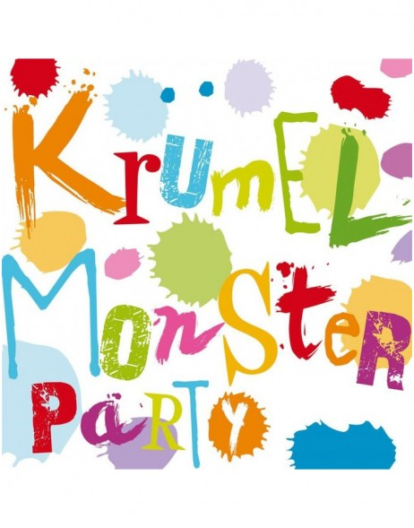 Papier-Servietten Kr�melmonster/multic.