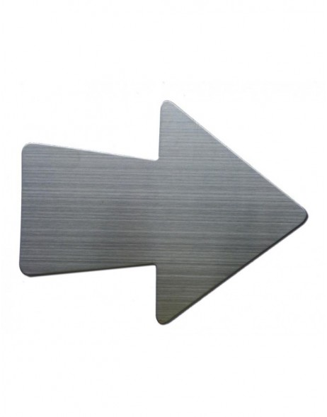 Arrow magnets stainless steel SHAPE UP 4 pieces