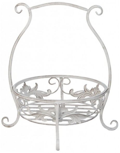 garden decoration white - 6Y1776 Clayre Eef