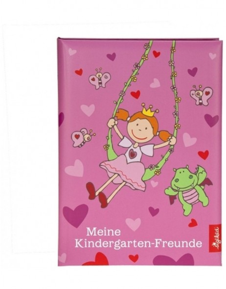 Pinky Queeny friends book Kindergarten