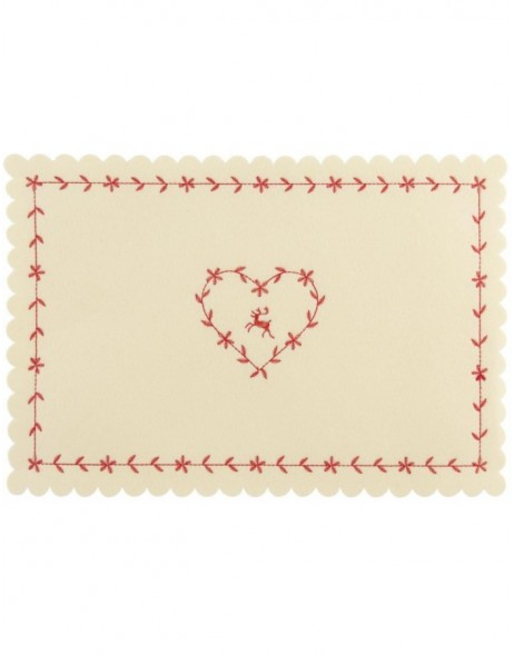 natural place mat - FE040.010LN Clayre Eef