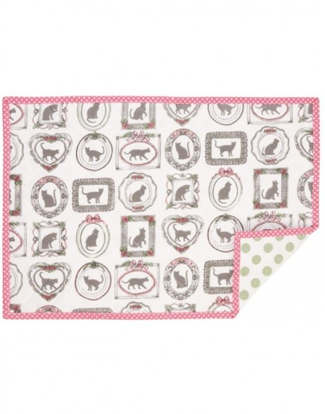 pink place mat - MPC40 Clayre Eef