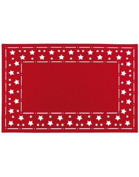 red place mat - FE040.008LR Clayre Eef