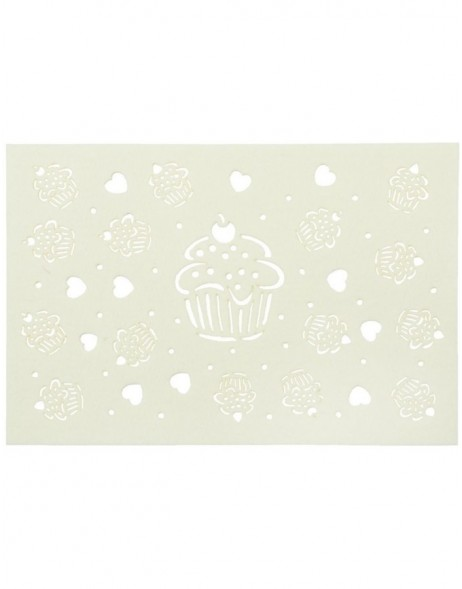 white, natural place mat - FE040.011LN Clayre Eef
