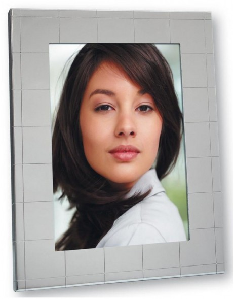 Portrait Picture frame Laura 10x15 cm metal