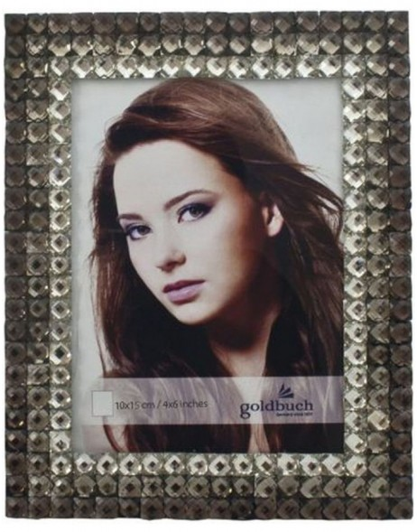 portrait frame  CRISTAL 10x15 cm brown