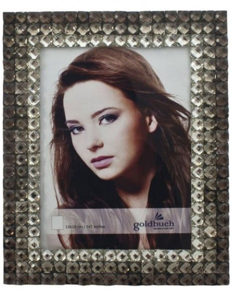portrait frame CRISTAL 13x18 cm brown