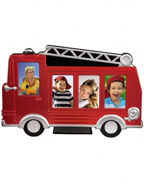 Grisu Fire Engine Portrait Frame, red, 4x 5x8 cm