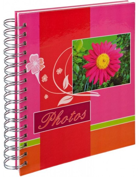 Professional album Fleur charm with spiral binding for insertion