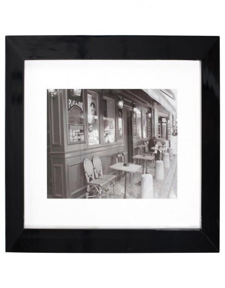 Toulouse wooden frame 40x40 - black