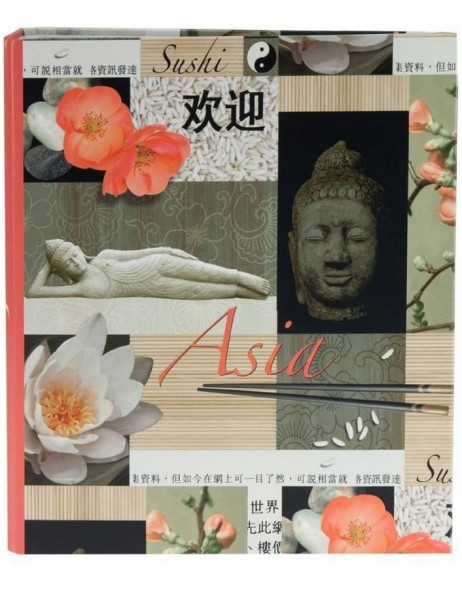 ASIA recipe book 22x17,5 cm