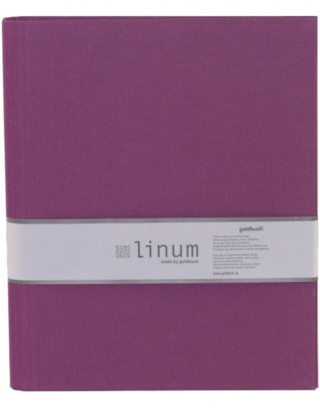 Ring Binder A4 Linum blackberry