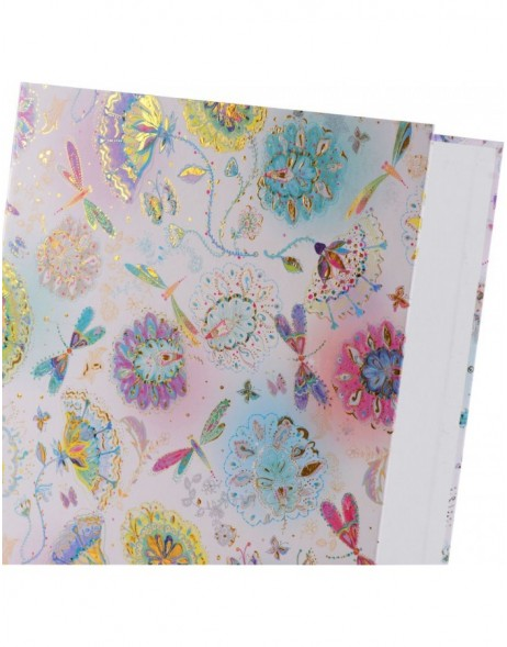 Ring Binder A4 Silver Moon bright
