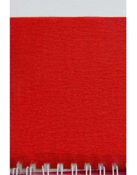 Rolle Krepppapier in rot - 95106C Clairefontaine