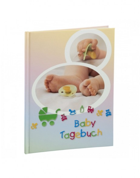 Sascha Baby Diary, 20.5x28 cm, 44 illustrated pages
