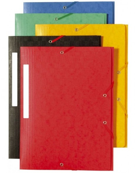 Binder A4 + 3 Scots red flaps