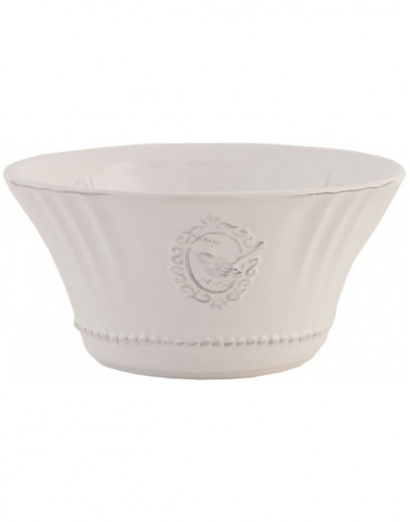white bowl 6CE0270 Clayre Eef