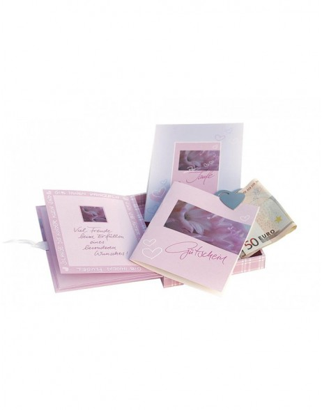 Treasure chest Baptism pink