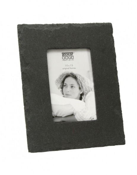 Picture frame made of slate 4x6