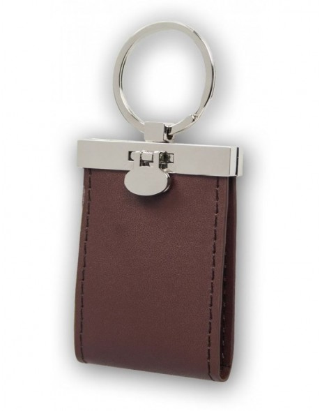 Keychain 2 Photos leather