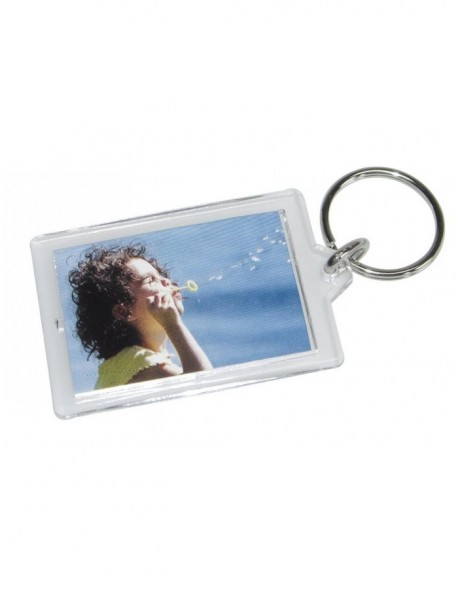 key fob for 1 picture - acrylic