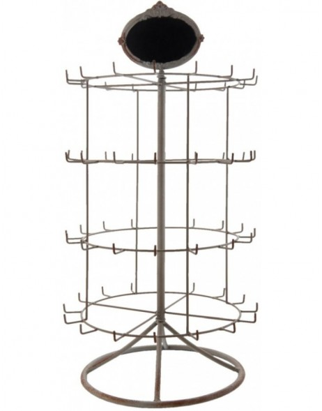 jewellery rack 5Y0225 in grey