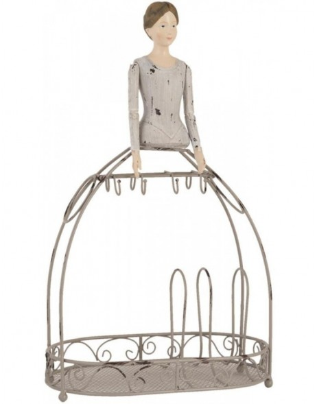 jewellery rack 62802 in grey