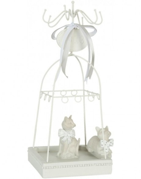 jewellery rack 62951 in white