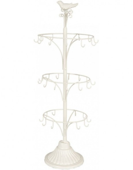 jewellery rack 6Y1391 in white