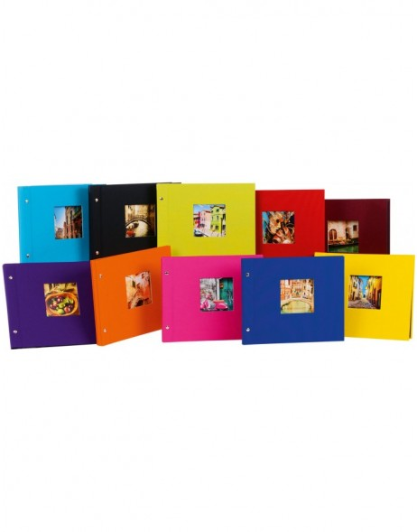screw bound photo album Bella Vista 30x25 cm and 39x31 cm