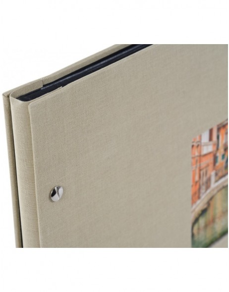 srew bound photo album Bella Vista Trend black sides