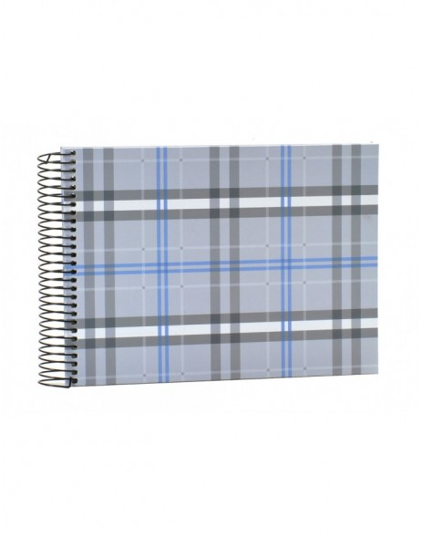 Scottish Diamonds blue spiral bound album