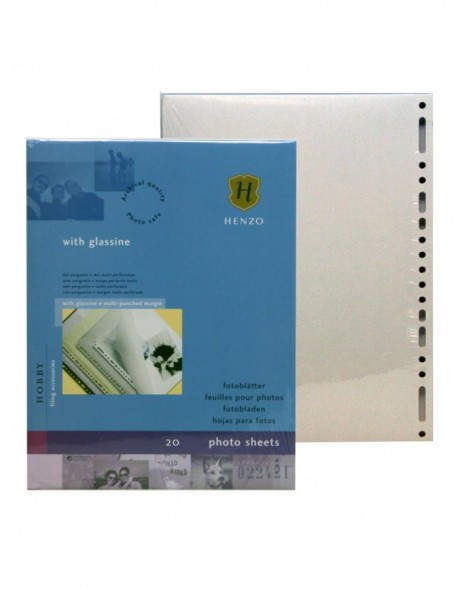 Henzo photo sheets white