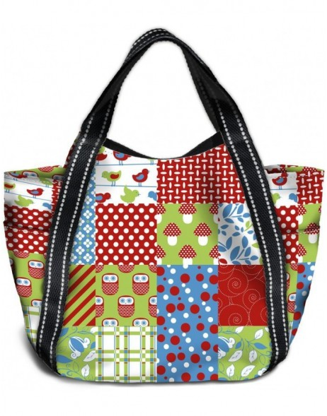 Shopping bag big Patchwork