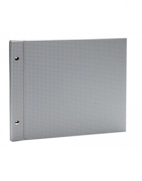 Sirio silver-grey post bound album 30x25 cm