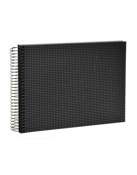 Black Sirio spiral bound album