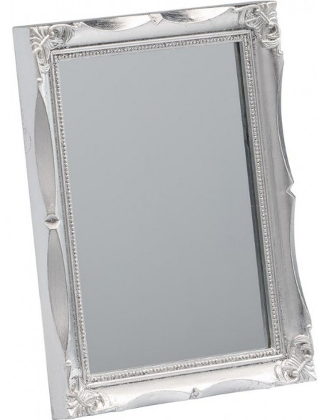 mirror 13x18 cm with silver frame