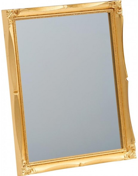 mirror 20x25 cm with golden frame