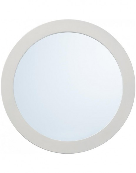 mirror with white frame 40 cm