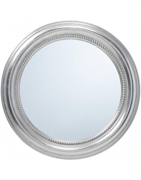 mirror with silver frame 50 cm