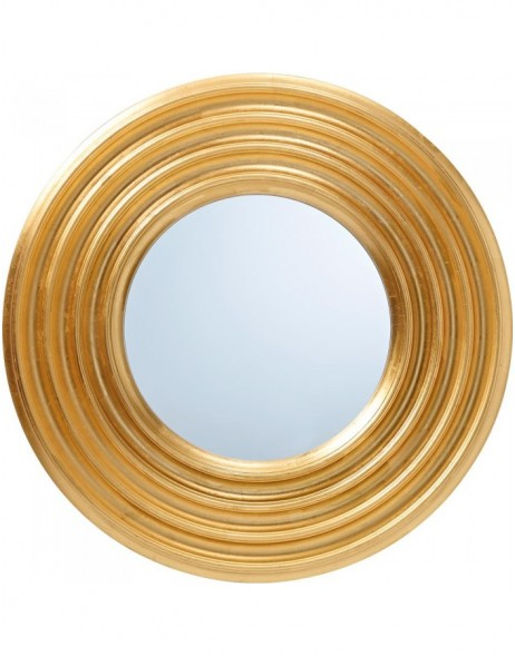 mirror with golden frame 76 cm