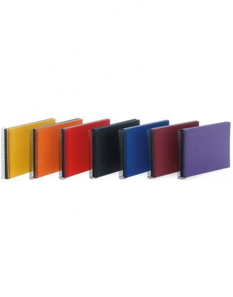 goldbuch spiralalbum aktion 23x17 cm schwarze seiten. Black Bedroom Furniture Sets. Home Design Ideas