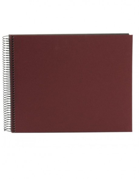 Spiral album Bella Vista bordeaux 35x30