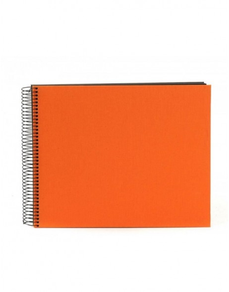Spiral album Bella Vista orange 35x30