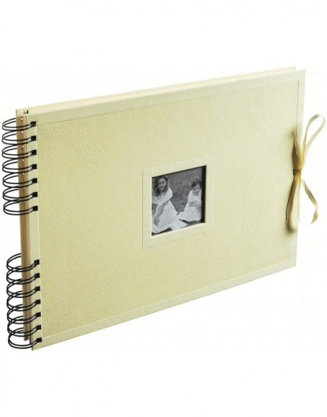 Kréa  Wedding album ivory spiral bound