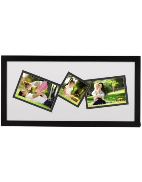 photo gallery frame St. Louis 3 photos black