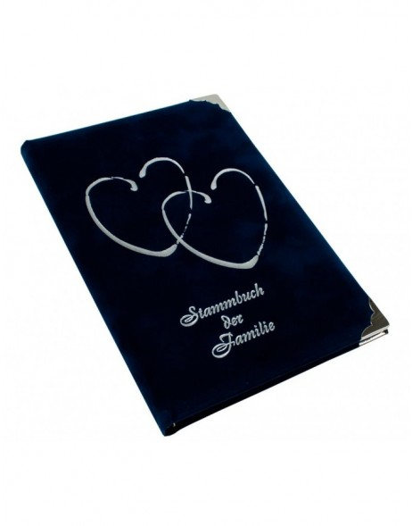 Stammbuch CORAZON in blau