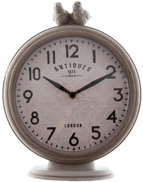 grandfather clock grey - 6KL0361 Clayre Eef