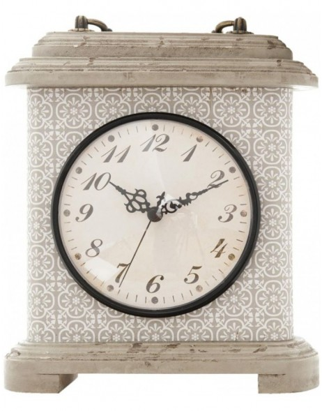 grandfather clock grey - 6KL0294 Clayre Eef