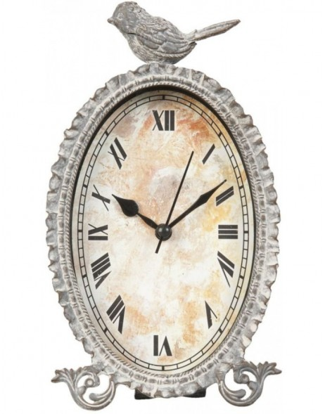grandfather clock natural - 6KL0250 Clayre Eef